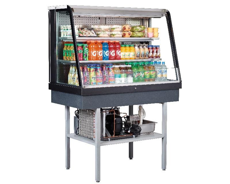 Refrigerated Display Case Beverage Coolers Glass Door