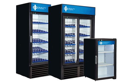 Refrigerated Display cases, Beverage coolers, Glass door