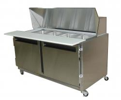 QBD Is Leading Manufacturer Supplier Exporter Of Prep Tables - Cold sandwich prep table